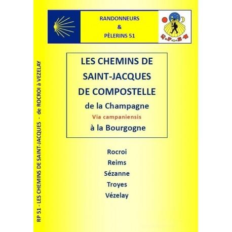PELGRIMSGIDS ROCROI - VEZELAY  (Franse versie)