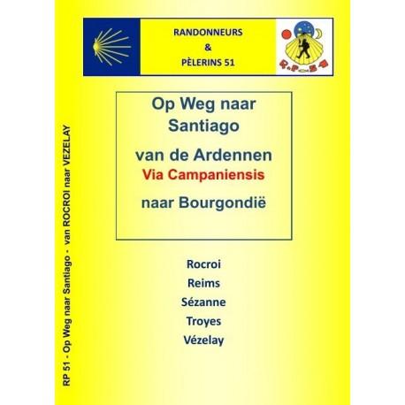 PILGERFÛHRER ROCROI-VEZELAY in NEDERLANDSE